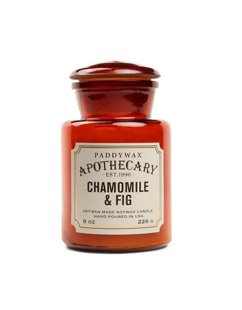 APOTHECARY - Bougie en Verre - Chamomile & Fig (226g)