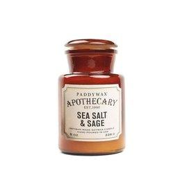 APOTHECARY - Glazen Kaars  - Sea Salt & Sage (226g)
