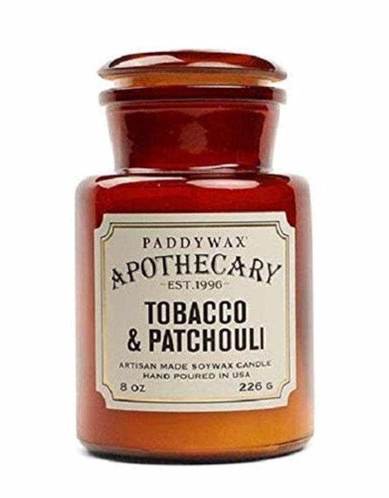 APOTHECARY - Glazen Kaars - Tobacco & Patchouli (226g)