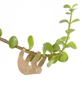 GOLDEN PLANT HANGER - Sloth