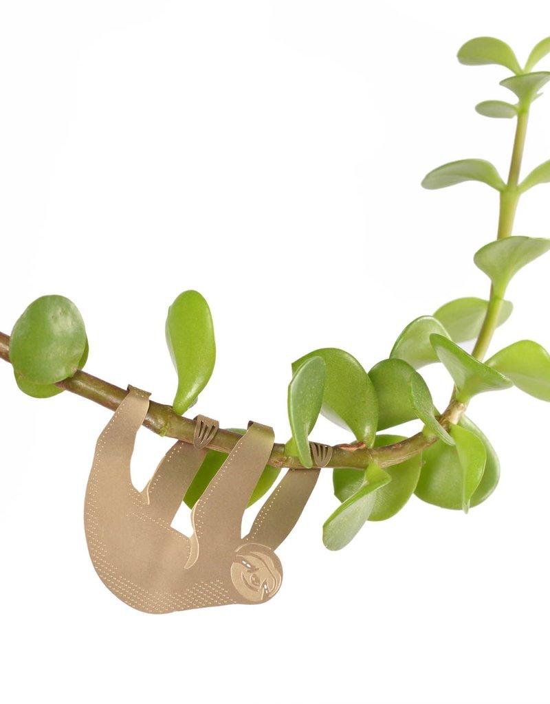 GOLDEN PLANT HANGER - Sloth