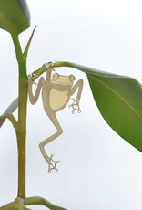 GOLDEN PLANT HANGER - Tree Frog