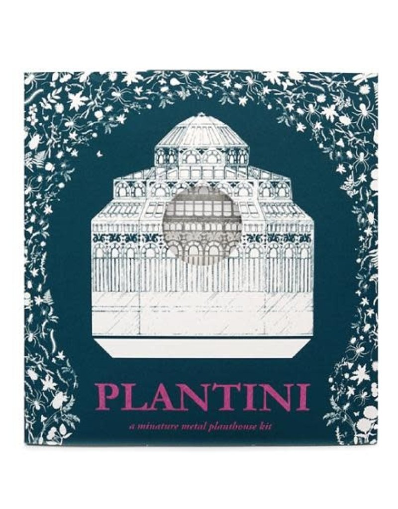 PLANTINI: miniatuur plantenhuis