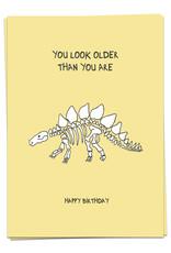 KAART BLANCHE WENSKAART - You Look Older Than You Are.