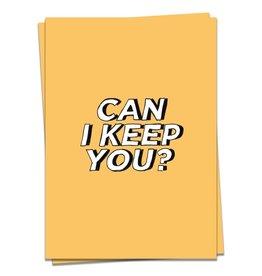 KAART BLANCHE WENSKAART - can i keep you?