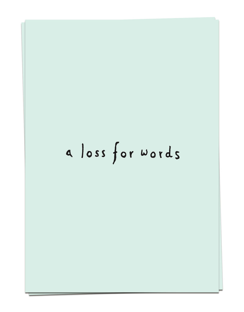 KAART BLANCHE - Loss for Words