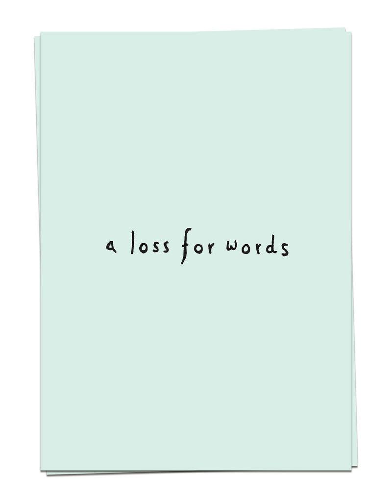 KAART BLANCHE WENSKAART: Support - Loss For Words