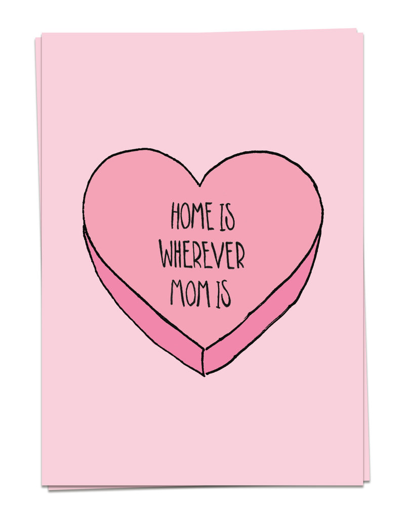 KAART BLANCHE WENSKAART: - Mom Love - Mom Home