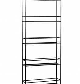 PLANT RACK - High Black 80x37x200 cm