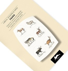 PEPIN label & sticker boek - fauna