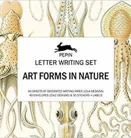 BRIEVEN SCHRIJFSET - Kunstvormen in de Natuur