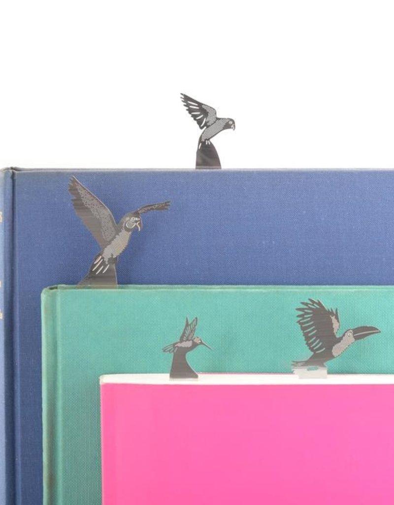 Bookmark set - tropical birds