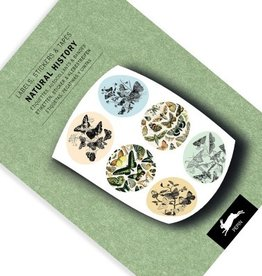 LABEL & STICKER BOOK - Natural History