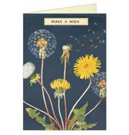 MAKE A WISH - GREETING CARD & ENVELOPE