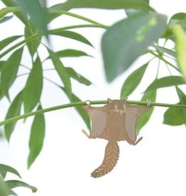 GOLDEN PLANT HANGER - Flying Squirrel
