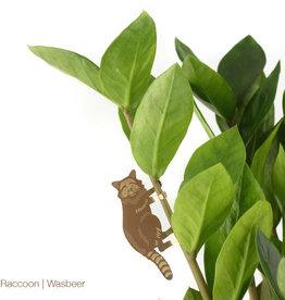 GOUDEN PLANTENHANGER - Wasbeer