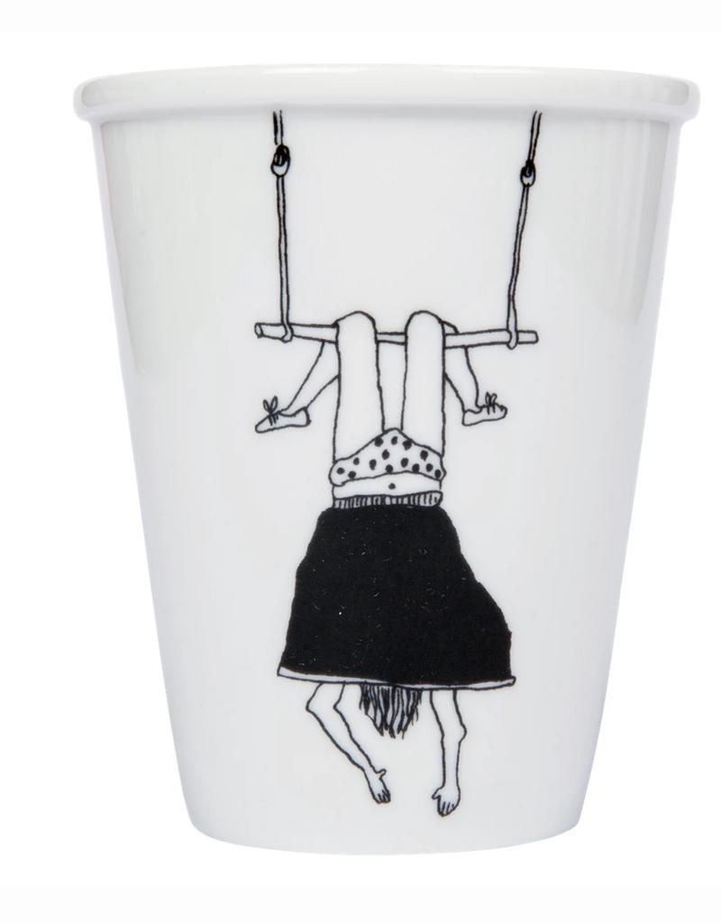 PORSELEINEN BEKER - Trapeze Girl