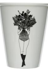 PORCELAIN MUG - Flower Girl
