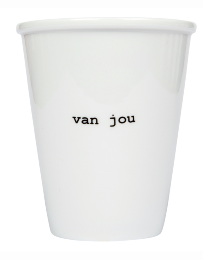 TASSE EN PORCELAINE - Van Jou