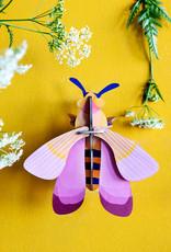 DIY WANDDECORATIE - Roze Honingbij