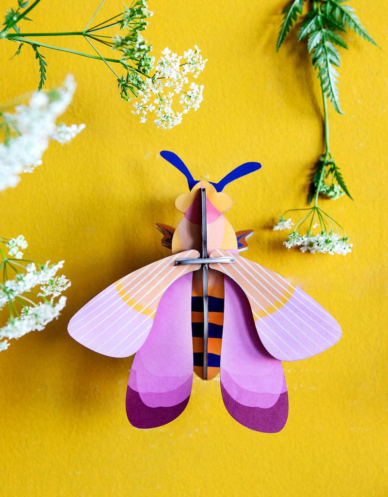 Roze honingbij