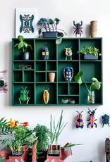 DIY WANDDECORATIE - Langhoorn Kever