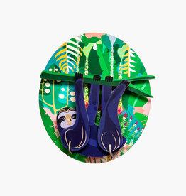 DIY WANDDECORATIE - Jungle Luiaard