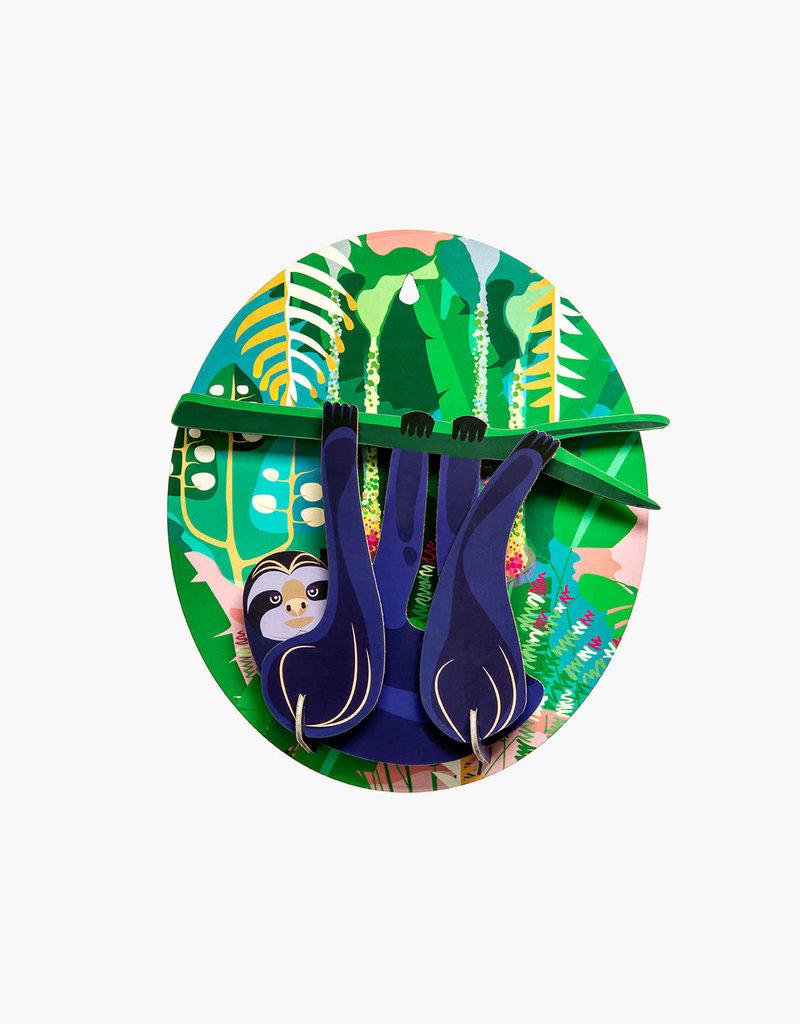 DIY WALL DECORATION - Jungle Sloth