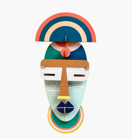 DIY WANDDECORATIE - Masker - Brooklyn