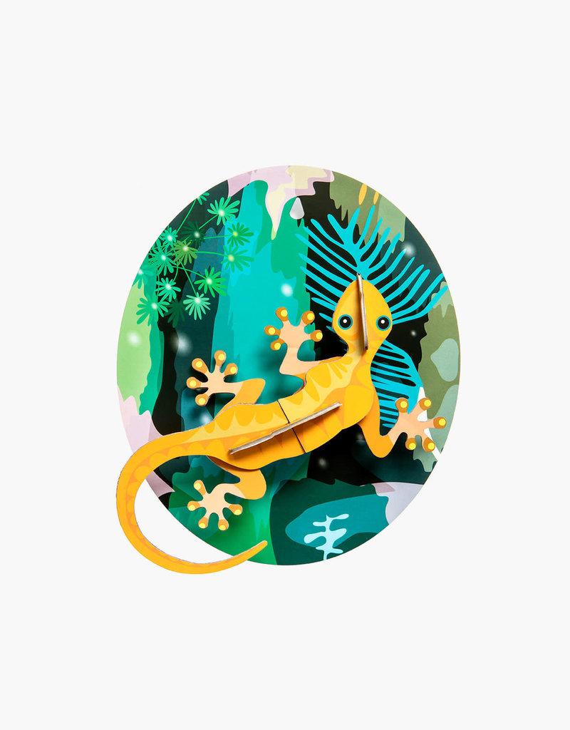 DIY WANDDECORATIE - Jungle Gekko