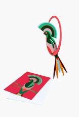 pop out card - swingende gili