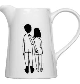 CARAFE - Couple Nu de Dos