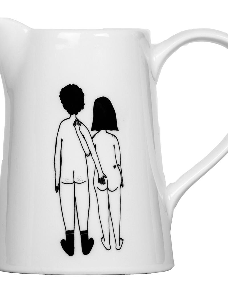 JUG -Naked Couple Back