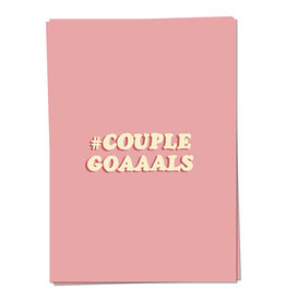 KAART BLANCHE GREETING CARD- #couplegoals
