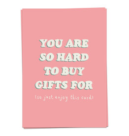 KAART BLANCHE - You Are So Hard to Buy Gifts for