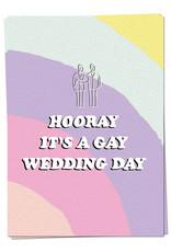 Copy of KAART BLANCHE - Gay wedding card