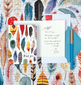 Galison NOTECARDS - Thank You - Arrows & Feathers