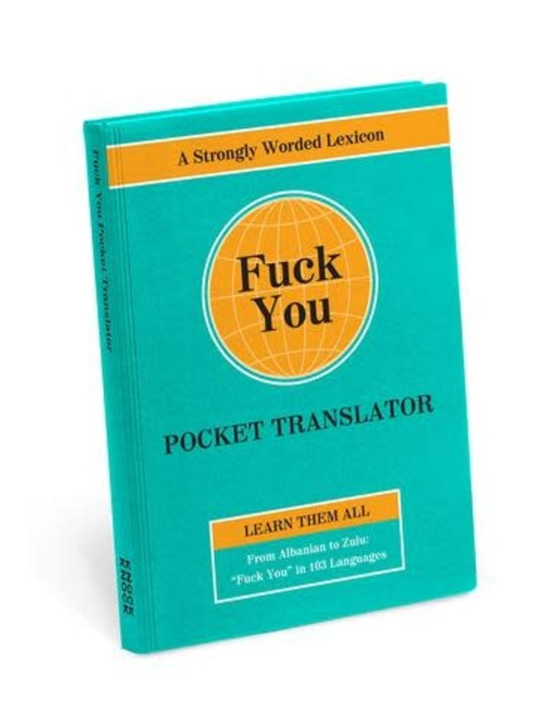 vloek zakwoordenboek: FUCK YOU
