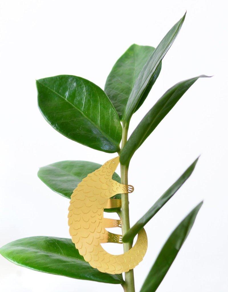 Gouden plantenhanger - Schubdier
