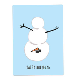 KAART BLANCHE - Xmas - Naughty Snowman