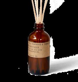 P. F. Candle Co. No. 04 Teakwood & Tobacco diffuser