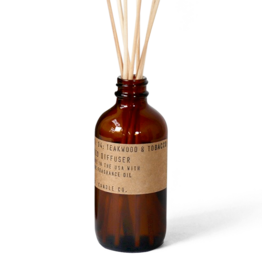 P. F. Candle Co. REED DIFFUSER - No. 04 Teakwood & Tobacco