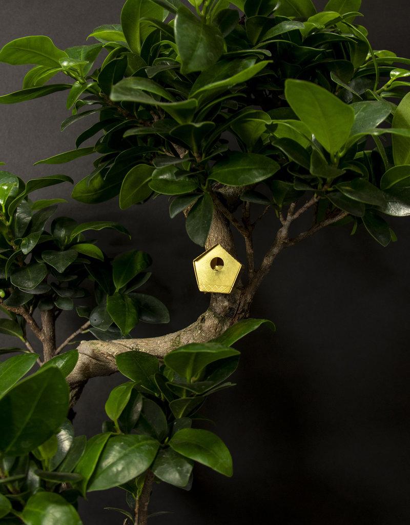 Mini-vogelhuisje voor planten