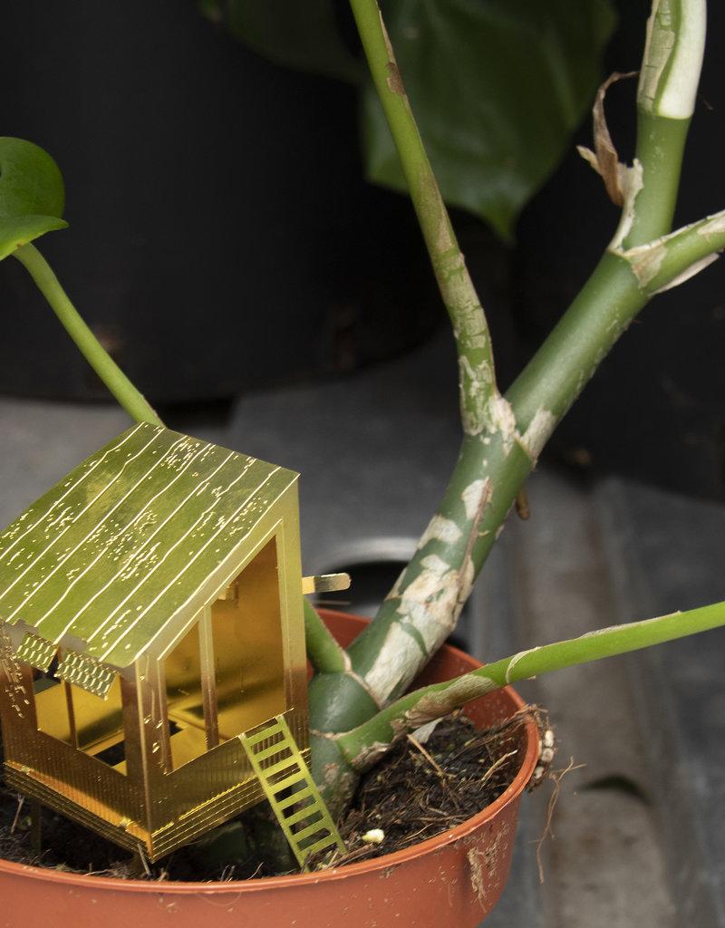Mini cabane pour plantes