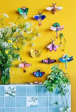 DIY DECORATION MURAL - Papillon Zèbre
