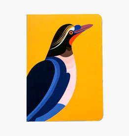 NOTITIEBOEKJE - A5 - Paradijsvogel Flores