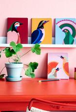 Notitieboek A5 - Paradijsvogel Flores