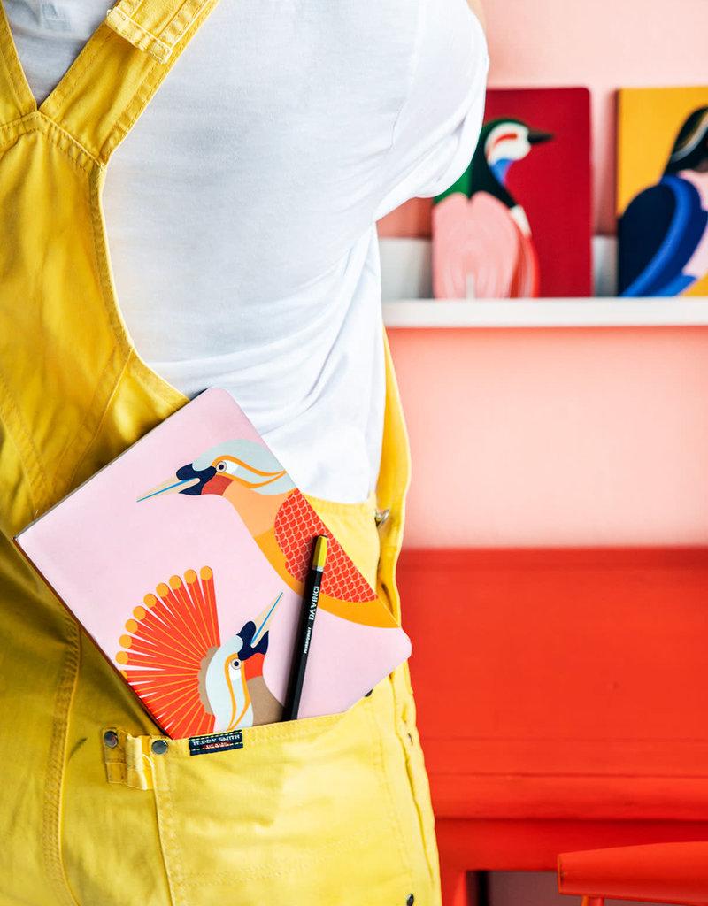 NOTEBOOK - A5 - Bird of Paradise Obi