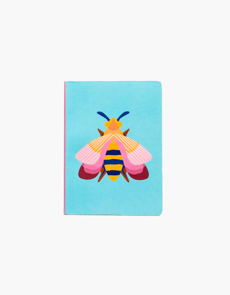 NOTEBOOK - A6 - Pink Bee