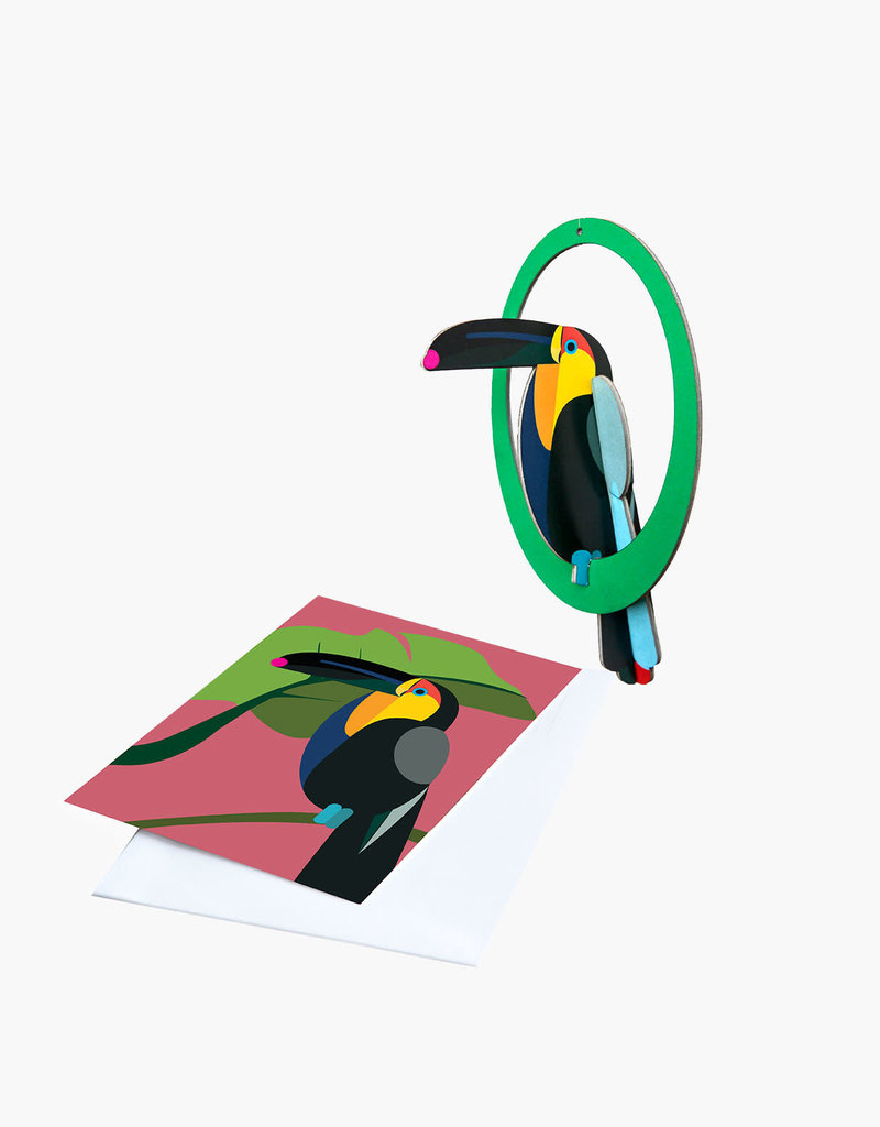 POP-OUT CARD -  Swinging Toucan